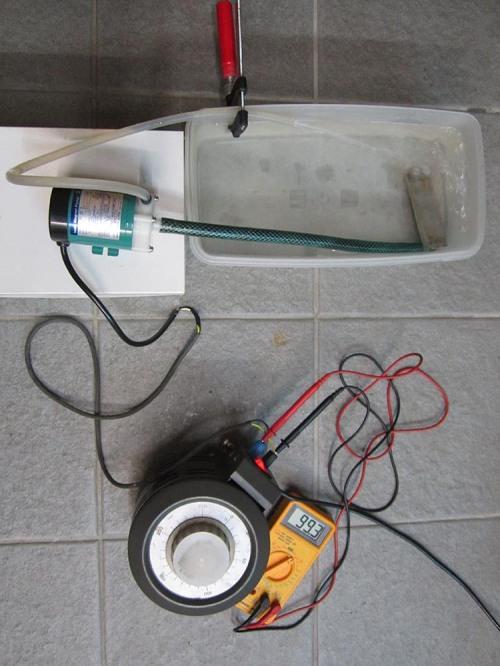 Figure 4 - Pump preheating phase